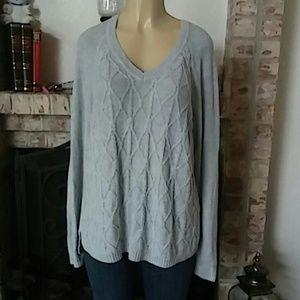 SONOMA Casual Grey Womens Sweater - XL